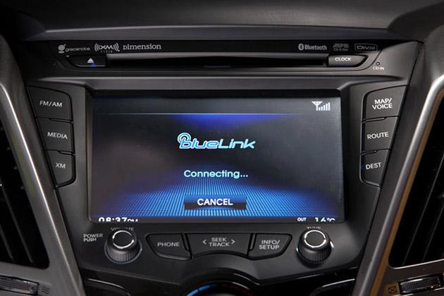 Blue Link : carro supertecnológico da Hyundai. Foto: Divulgação