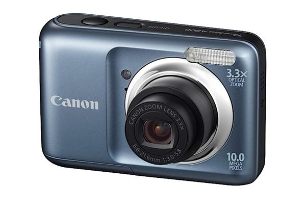 A Canon Powershot A800 custa menos de 100 dólares