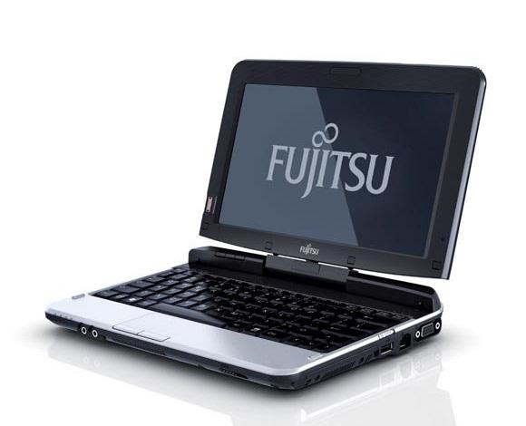 Tablet PC T580 é um dos lançamento da Fujitsu na CES 2011. Foto: Divulgação