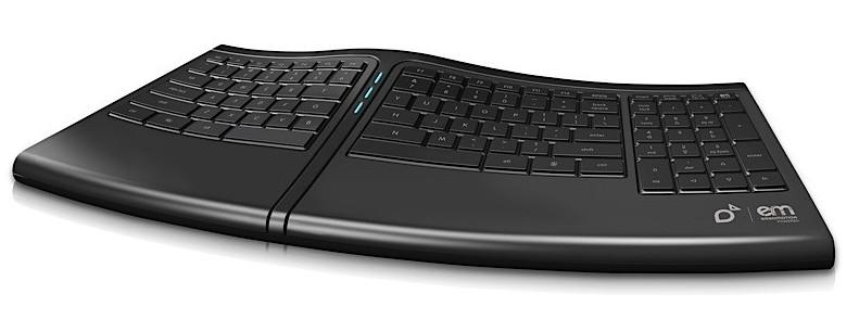 O teclado inteligente.