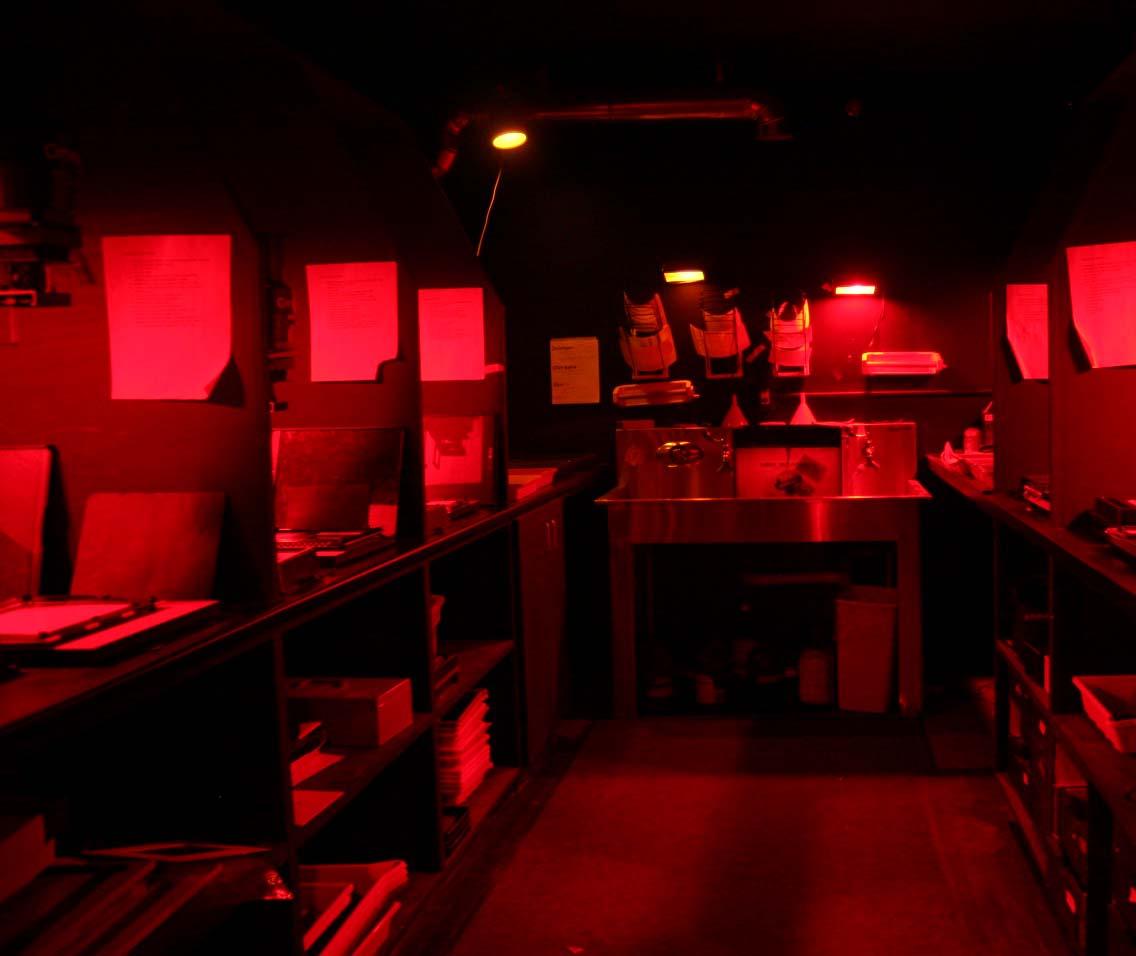 O laboratório para a fotografia analógica