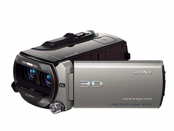Filmadora 3D da Sony