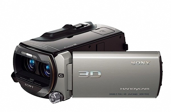 Sony HDR-TD10, primeira filmadora full HD 3D do mundo