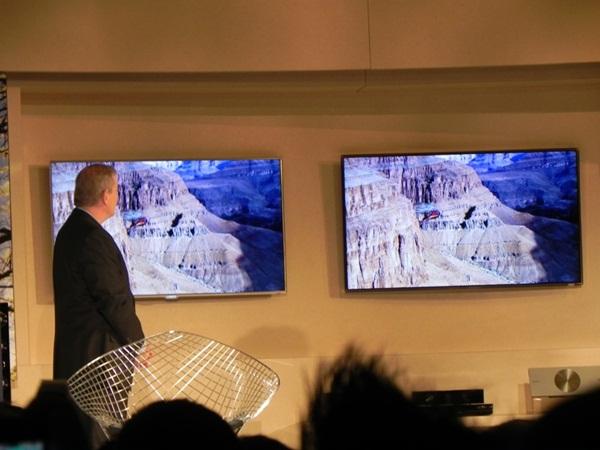 TVs com molduras ultrafinas