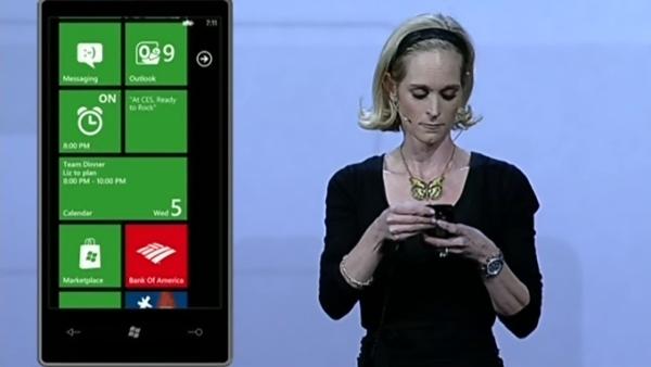 Apresentação na conferência da Microsoft