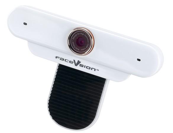 Webcam em alta definição.