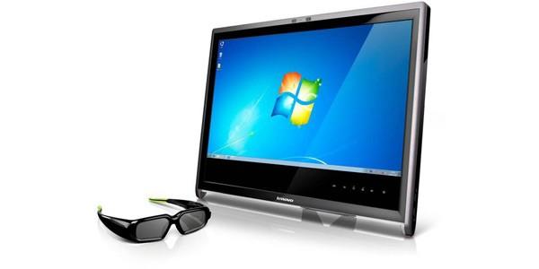 Lenovo L2363d: exibe e transmite vídeos em 3D. Foto: Divulgação.