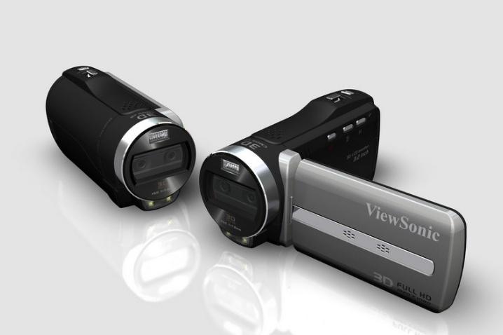 Filmadora 3D da ViewSonic