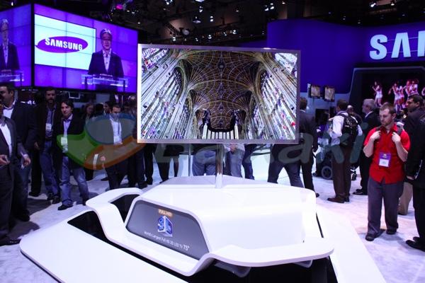 A TV superfina da Samsung