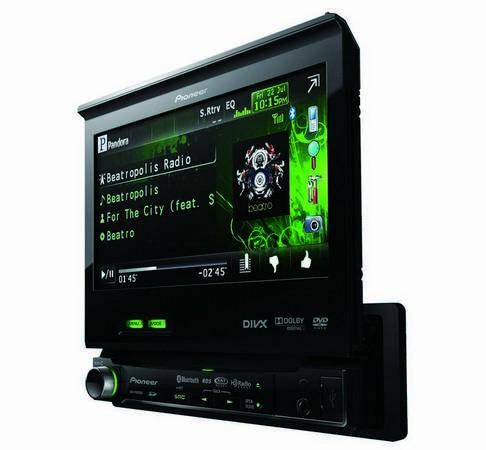 Novo aparelho da Pioneer compatível com o Pandora