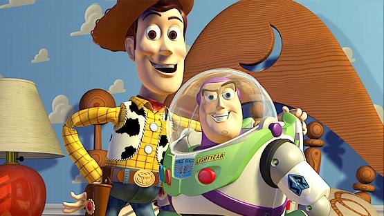 Toy Story foi o primeiro grande sucesso!
