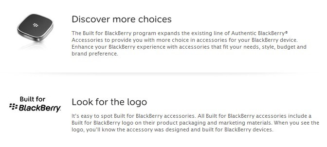 Novos acessórios para a BlackBerry vêm por aí!