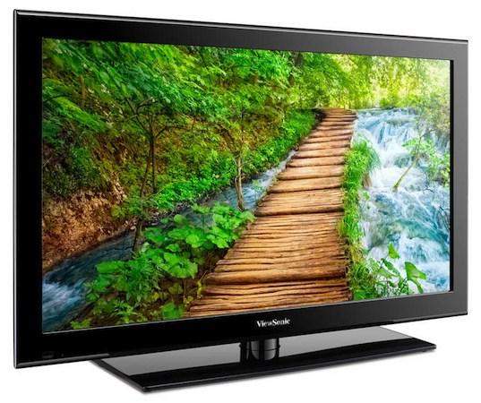 TV LED da empresa.