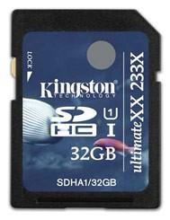 Ùltima geração de cartão de memória da marca.