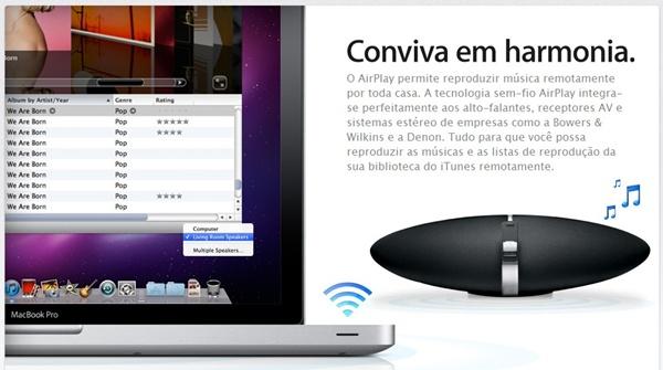Apple AirPlay pode ser uma dos destaques de 2011
