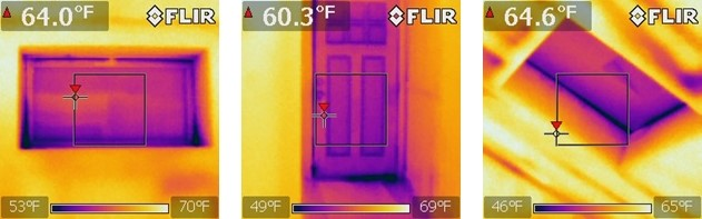 Capturas de calor com a Flir I3