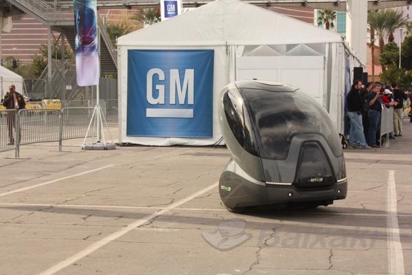 En-V, os carros elétricos da GM.