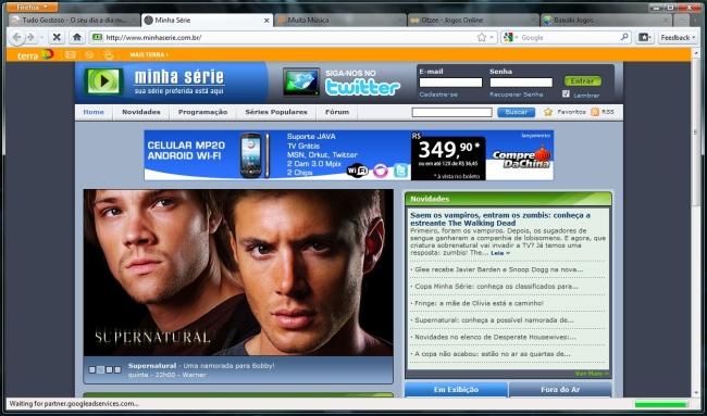 Lançamento do Firefox 4.0 não passa de fevereiro. Fonte da imagem: Reprodução.