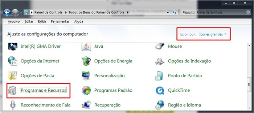 Desinstalando Windows Search