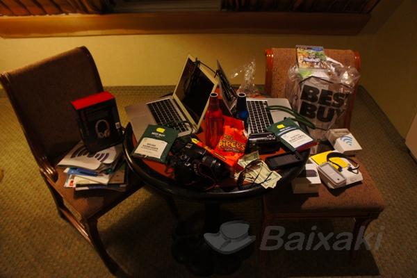 O escritório do Baixaki em Las Vegas.