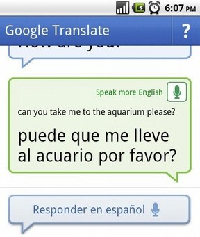Google Translate para Android.