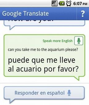 Google Translate para Android.