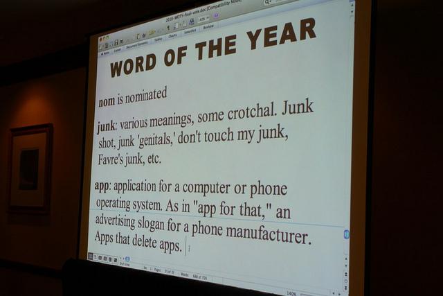 App é eleita a palavra do ano pela ADS