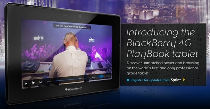 BlackBerry PlayBook - O tablet profissional da RIM