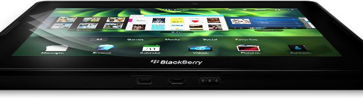 BlackBerry PlayBook - Alto desempenho em um pequeno tablet