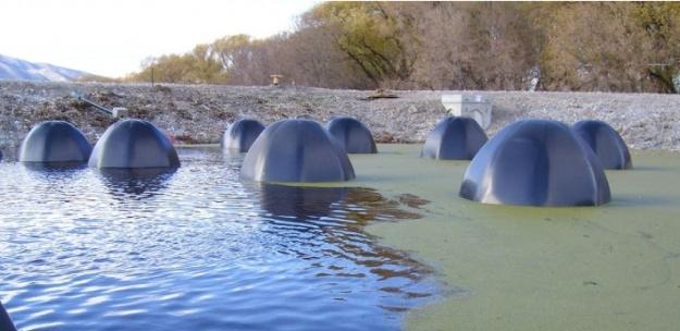 Bio-domes em ação