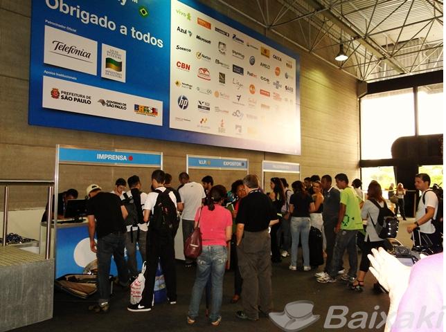 Primeiros movimentos na Campus Party Brasil
