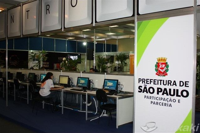 Área de Inclusão Digital da Campus Party Brasil 2011