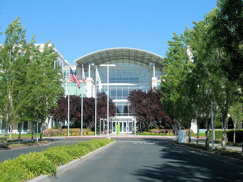 Sede da empresa em Cupertino.