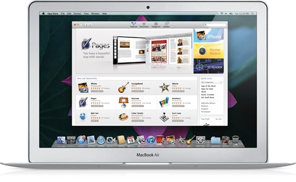 Tela da Mac App Store.