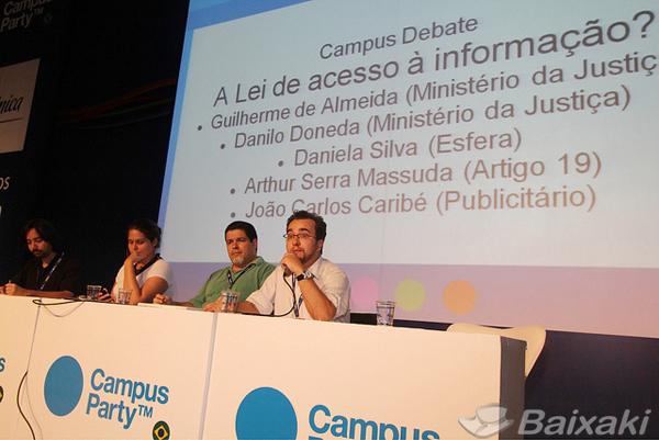 Palestrantes falam sobre leis de acesso à informação