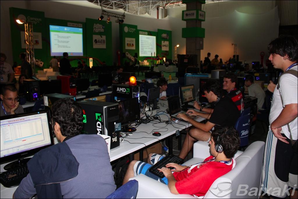 Campus Party: espaço para todos os gostos