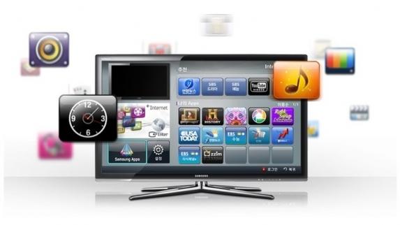 Televisão inteligente da Samsung chega ao Brasil este ano.