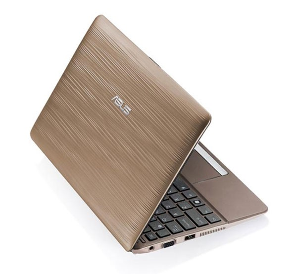 Asus Eee PC 1015PW Sirocco na cor Golden Dust