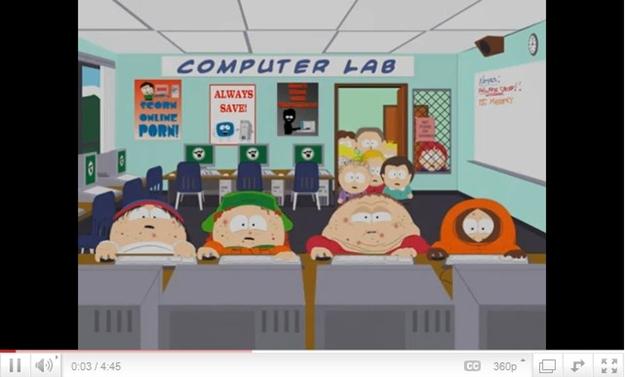 O vício dos garotos de South Park atingiu níveis preocupantes.