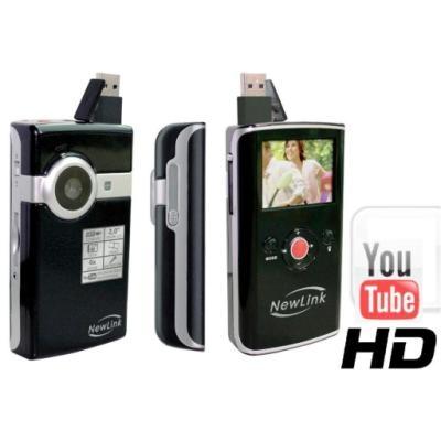 Que tal uma filmadora HD de bolso?