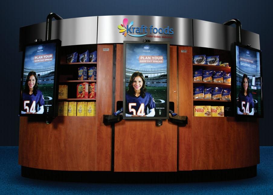 Máquina da Kraft em parceria com a Intel