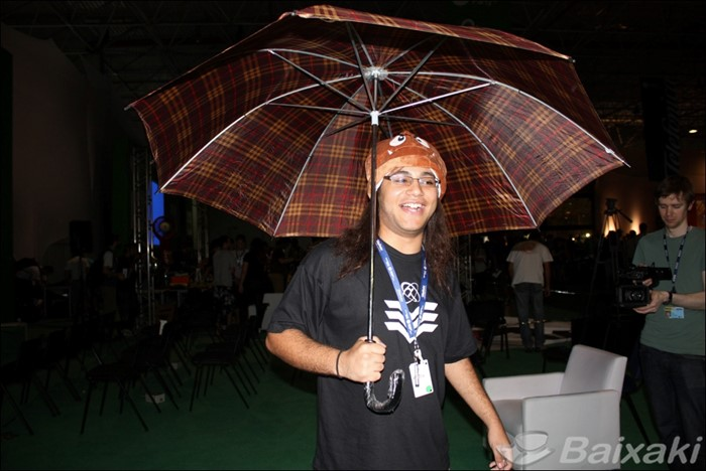 Chuva provocou apagão na Campus Party