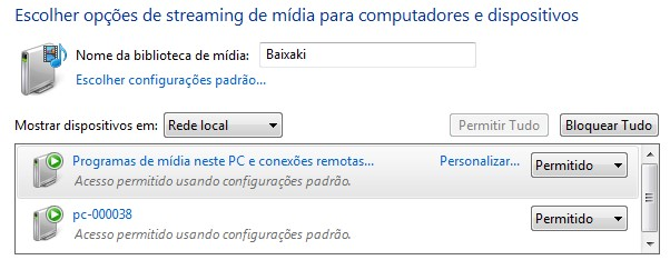 Menu do Windows 7