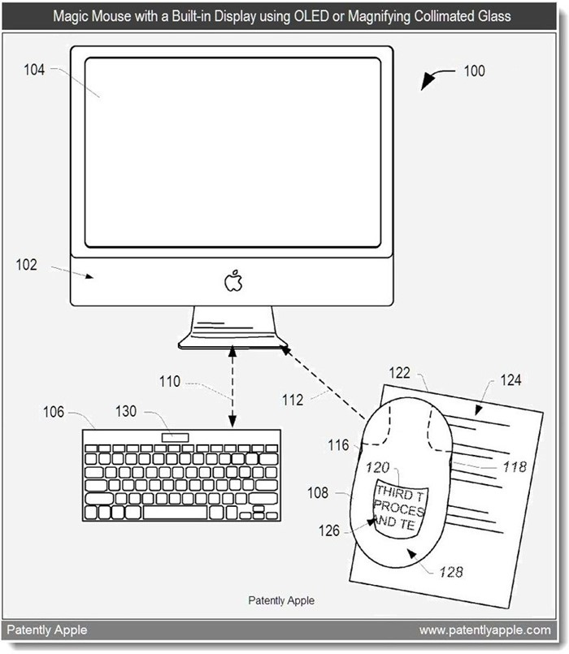 Nova patente de mouse que