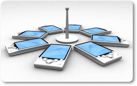 NFC é um wireless de alta frequência.