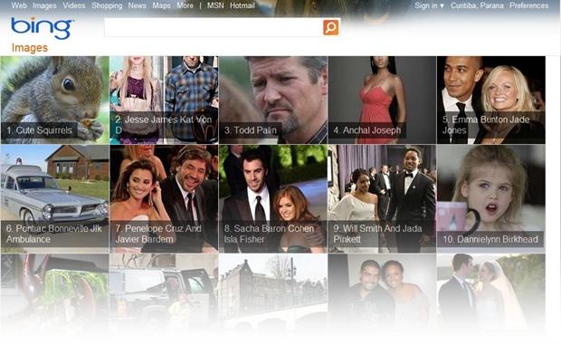 Trending Topics do Bing