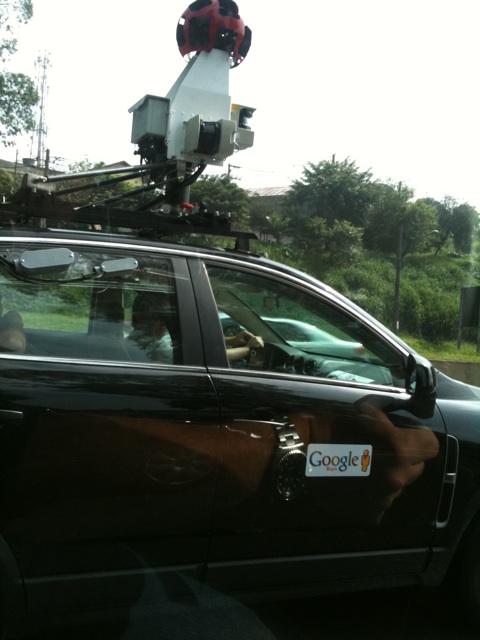 Carro novo do Google Street View