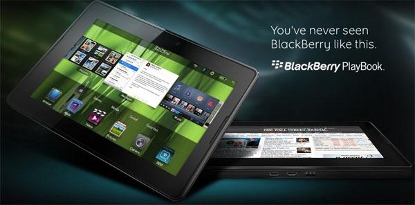Tablet da RIM para encarar o iPad.