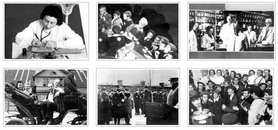 Imagens digitalizadas do Yad Vashem.