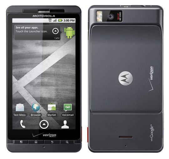 Motorola Droid X.